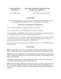 Quyết định 1734/QĐ-UBND