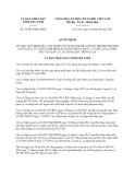 Quyết định 26/2013/QĐ-UBND tỉnh Trà Vinh