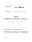 Quyết định 1409/QĐ-UBND