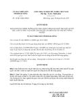 Quyết định 14/2013/QĐ-UBND tỉnh Đắk Nông