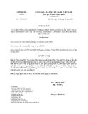 Nghị quyết 97/NQ-CP