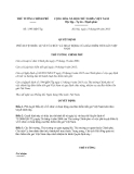 Quyết định 1395/QĐ-TTg
