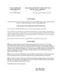 Quyết định 1329/QĐ-UBND