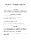 Quyết định 2948/2013/QĐ-UBND  tỉnh Thanh Hóa