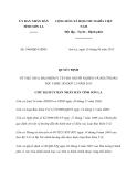 Quyết định 1864/QĐ-UBND