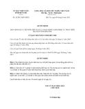Quyết định 24/2013/QĐ-UBND tỉnh Bến Tre