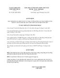 Quyết định 56/2013/QĐ-UBND