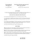 Quyết định 1384/QĐ-UBND