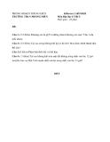 Đề kiểm tra 1 tiết HK2 Địa Lí 6 – THCS Phong Hiền 2012 – 2013 (kèm đáp án)