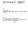 Đề KT giữa HK2 Địa Lí 6 – THCS TT Phong Điền 2012 – 2013 (kèm đáp án)