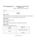 Đề kiểm tra 1 tiết Địa Lí 6 – THCS Phú Lương 2012 – 2013 (kèm đáp án)
