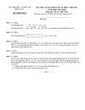 Đề tuyển sinh lớp 10 Toán (chuyên) – Sở GD&ĐT Đồng Nai 2012-2013 (kèm đáp án)