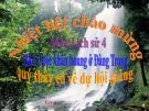 Bài giảng Lịch sử 4 bài 22: Cuộc khẩn hoang ở đàng trong