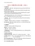 Giáo án bài 13: Phản ứng hóa học - Hóa 8 - GV.Phan V.An