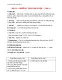 Giáo án bài 16: Phương trình hóa học - Hóa 8 - GV.Phan V.An