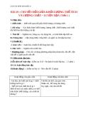 Giáo án bài 19: Chuyển đổi giữa K.lượng, thể tích và lượng chất - Hóa 8 - GV.Phan V.An