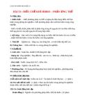 Giáo án bài 33: Điều chế khí Hiđro - Phản ứng thế - Hóa 8 - GV.Phan V.An