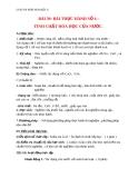 Giáo án bài 39: Bài thực hành 6 Tính chất hóa học của nước - Hóa 8 - GV.Phan V.An