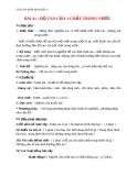 Giáo án bài 41: Độ tan của một chất trong nước - Hóa 8 - GV.Phan V.An