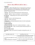 Giáo án bài 43: Pha chế dung dịch - Hóa 8 - GV.Phan V.An