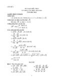 Chuyên đề luyện thi vào lớp 10: Rút gọn biểu thức có chứa căn thức bậc hai