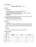 Giáo án bài 10: Ba định luật Niu-tơn - Vật lý 10 - GV.T.Đ.Lý