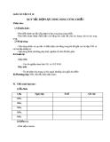 Giáo án bài 19: Quy tắc hợp lực song song cùng chiều - Vật lý 10 - GV.T.Đ.Lý