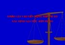 Bài 8: Thực hành chuyển động rơi tự do, gia tốc RTD - Bài giảng điện tử Vật lý 10 - T.Đ.Lý