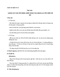 Giáo án bài 8: Thực hành chuyển động rơi tự do, gia tốc RTD - Vật lý 10 - GV.T.Đ.Lý