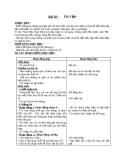 Giáo án Lịch sử 4 bài 20: Ôn tập