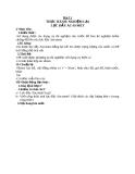 Giáo án Vật lý 8 bài 11: Thực hành nghiệm lại lực đẩy Ac-si-met