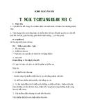 Giáo án Vật lý 7 bài 30: Tổng kết chương III Điện học