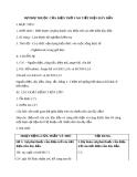 Giáo án bài 8:  Sự phụ thuộc của ĐT vào tiết diện dây dẫn - Vật lý 9 - GV.B.Q.Thanh