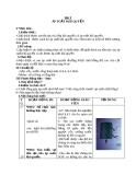 Giáo án Vật lý 8 bài 9: Áp suất khí quyển