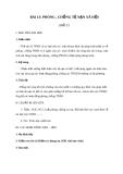 Giáo án GDCD 8 bài 13: Phòng, chống tệ nạn xã hội