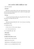 Giáo án GDCD 8 bài 14: Phòng, chống nhiễm HIV/AIDS