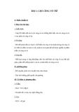 Giáo án GDCD 9 bài 1: Chí công vô tư