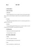 Giáo án GDCD 9 bài 2: Tự chủ