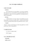 Giáo án GDCD 8 bài 3: Tôn trọng người khác