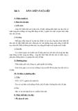 Giáo án GDCD 9 bài 3: Dân chủ và kỉ luật