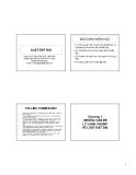 Bài giảng Luật đất đai - TS Dương Kim Thế  Nguyên