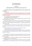 Đề cương bài giảng Luật tố tụng dân sự