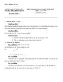 Đề kiểm tra HK1 môn Vật lí 7 - THCS Phong Xuân (2012-2013)