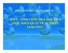 Slide bài Tính chất hóa học của oxit. Phân loại oxit - Hóa 9 - GV.Phạm V.Minh