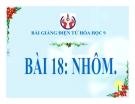 Slide bài Nhôm - Hóa 9 - GV.Phạm V.Minh