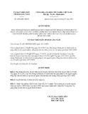 Quyết định 2092/QĐ-UBND năm 2013
