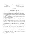 Quyết định 08/2013/QĐ-UBND tỉnh Cà Mau