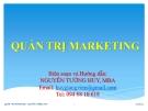 Bài giảng Quản trị marketing: Chương 2 - Ths.Nguyễn Tường Huy