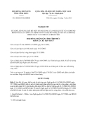 Nghị quyết 100/2013/NQ-HĐND