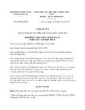Nghị quyết 08/NQ-HĐND năm 2013